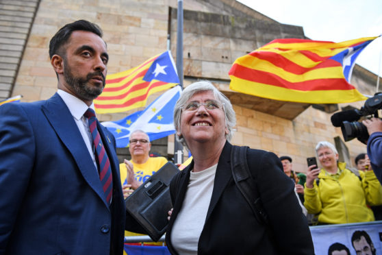 Former Catalonian Politician Clara Ponsati Appears In Court