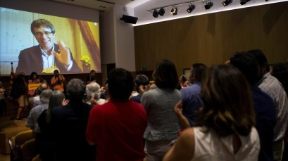 PUIGDEMONT LLAMA A LA UNIDAD SOBERANISTA PARA FUNDAR UN MOVIMIENTO EN OTONO