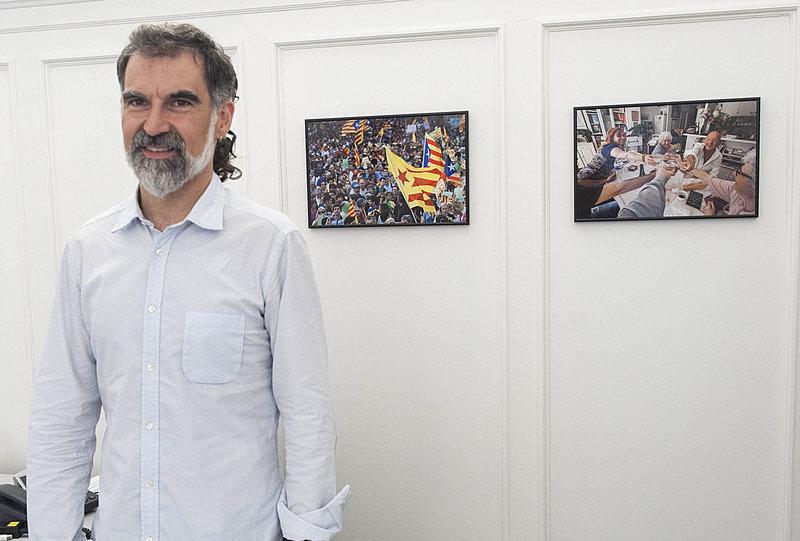 Barcelona .Entrevista Jordi Cuixart, president d'Òmnium Cultural. Una conversa personal (dins la sèrie del diari)
